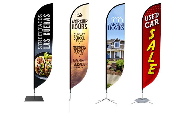 Ψηφιακές εκτυπώσεις διαφημιστικές σημαίες